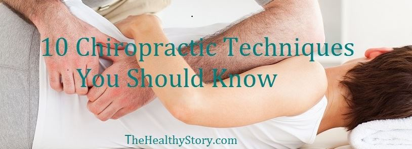 10 Chiropractic Techniques You Should Know